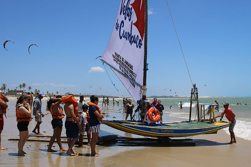 Jangada Sailing Cumbuco