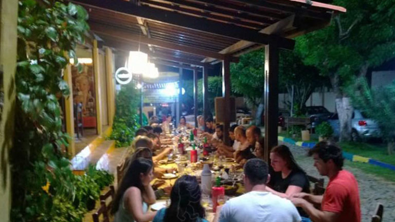 Sabor da praia restaurant Cumbuco