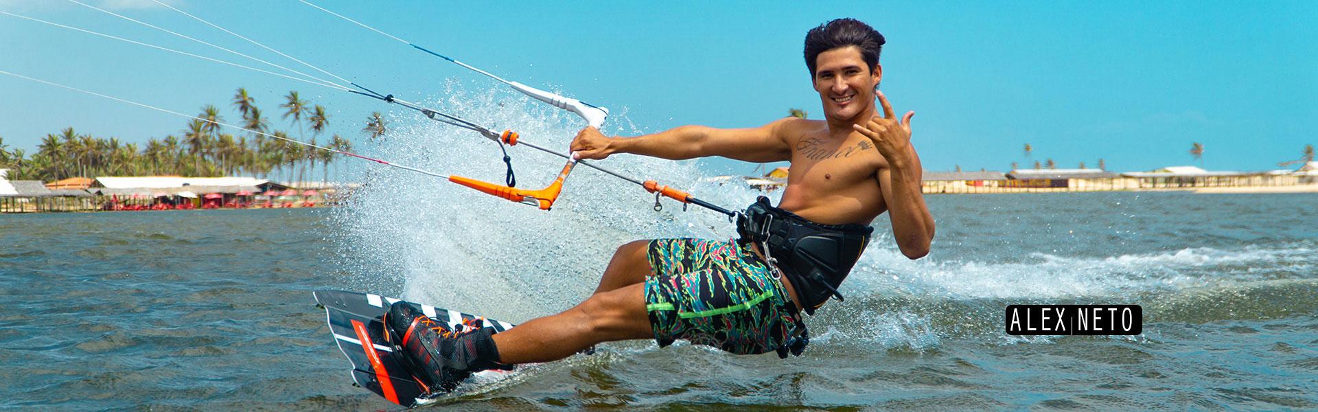 Kitesurfing Alex Neto Cumbuco