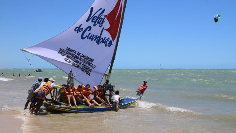 Jangada Sailing Cumbuco Beach