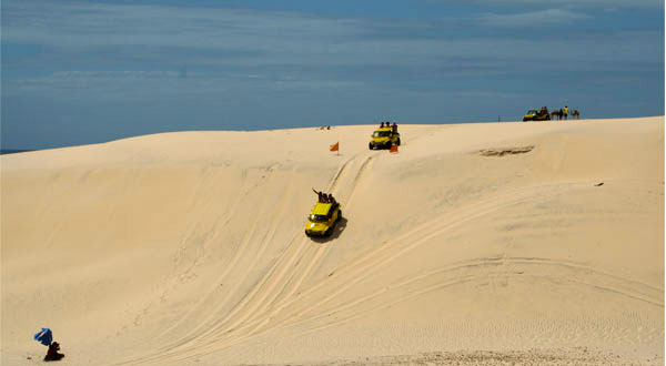 Buggy tour dunes Cumbuco
