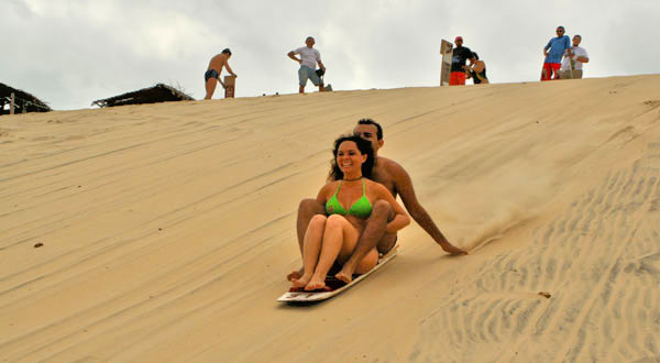 Sandboarding dunes Cumbuco