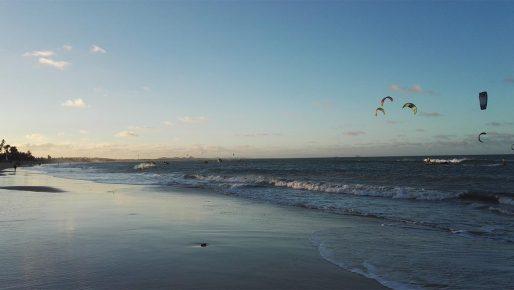 Cumbuco Beach afternoon